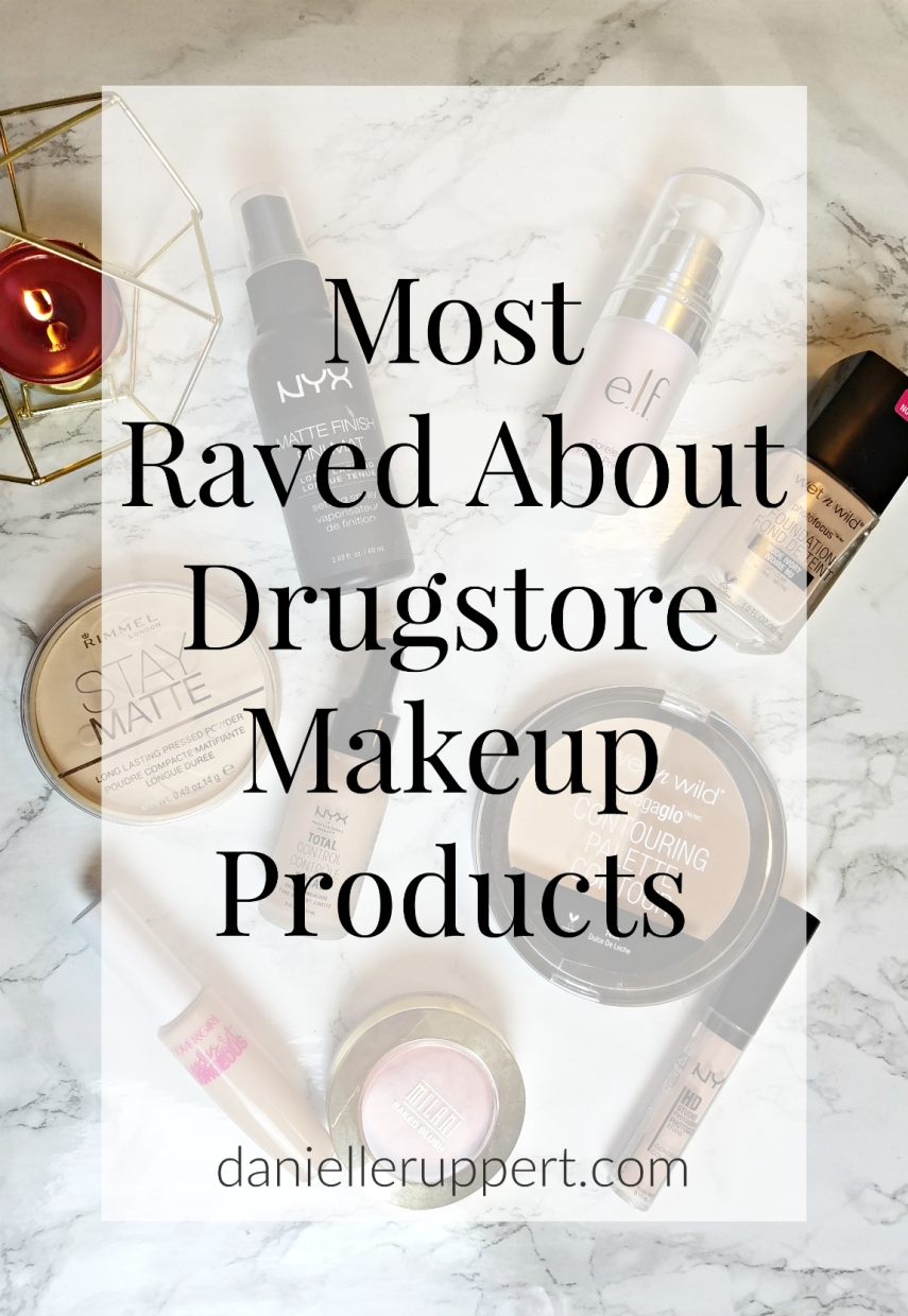 Most Raved About Drugstore Makeup Products