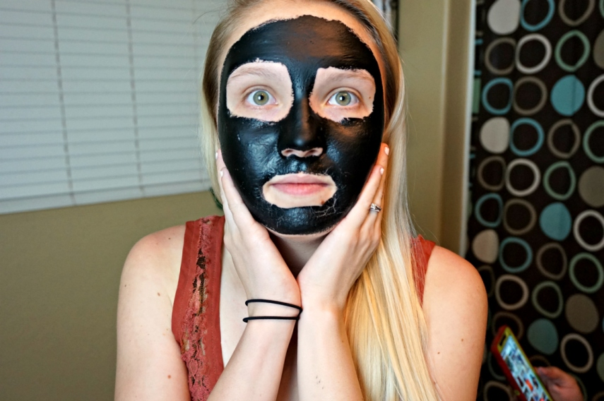Black Charcoal Mask Demo