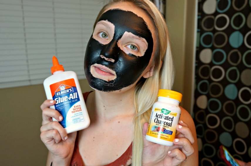 DIY Charcoal Mask Ingredients
